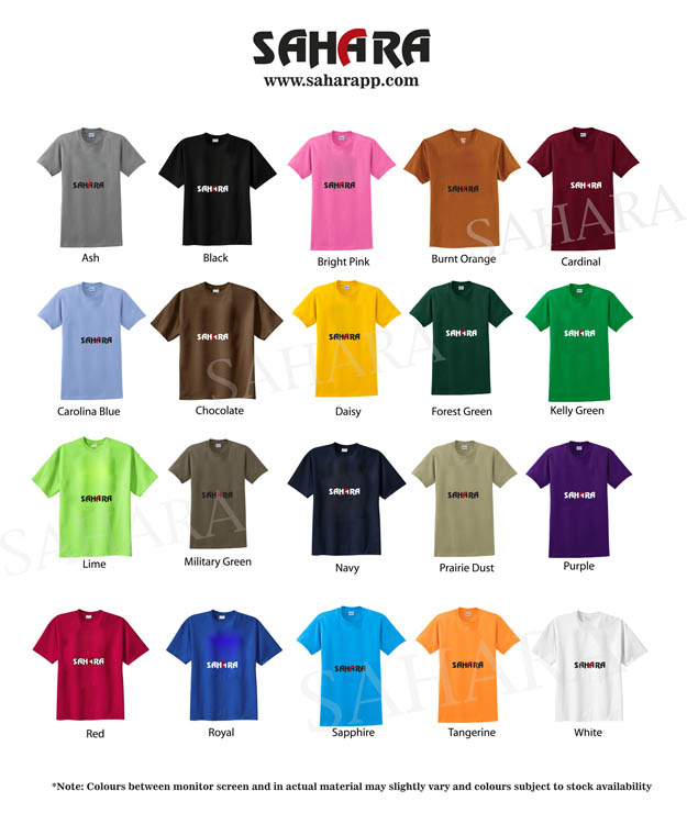 28f626fb Cheap Colour Charts Printing Dubai, Largest T Shirts Company in ...